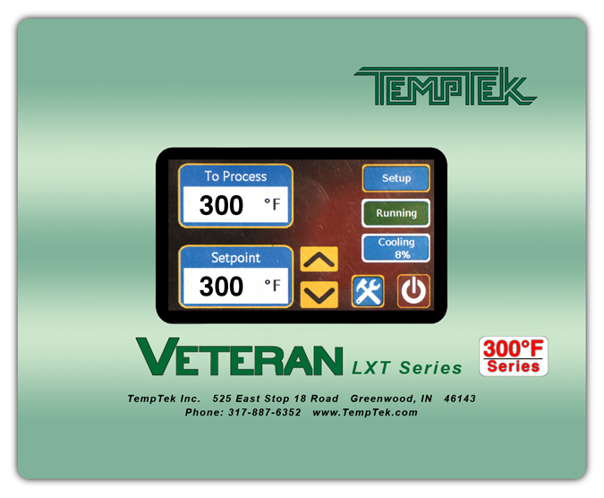 LXT-300 Series Control Instrument for Water Temperature Control Units