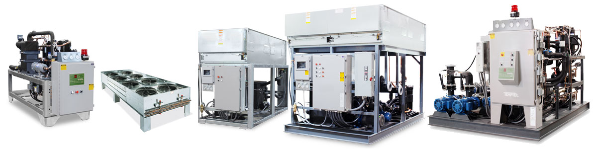 Central Water Chillers : Temptek